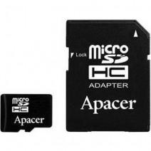 Apacer 128 GB microSDXC/SDHC UHS-I U1 Class 10 (R85 MB/s) + SD adapter
