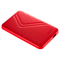 Apacer 1 TB USB 3.1 Portable Hard Drive AC236 Red