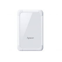Apacer 1 TB USB 3.1 Portable Hard Drive AC532 White Shockproof
