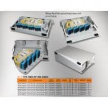 "Mirsan 1U 19"" 48 Port SCS, F Type Fiber Optical Box [MR.FOF1U48SCS.07]"