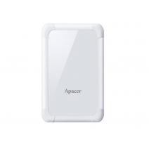 Apacer 1 TB USB 3.1 Portable Hard Drive AC532 White Shockproof