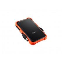 Apacer 2 TB USB 3.1 Portable Hard Drive AC630 Orange Shockproof Water Resistant